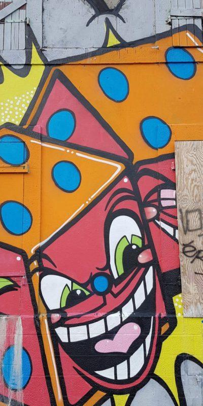 Les graffitis du port de commerce à Brest